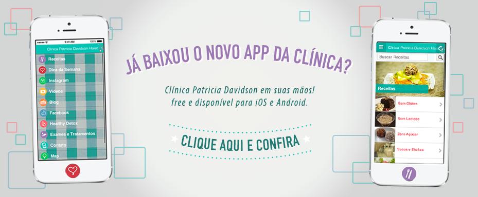 Aplicativo Clínica Patricia Davidson – 14/07/2014