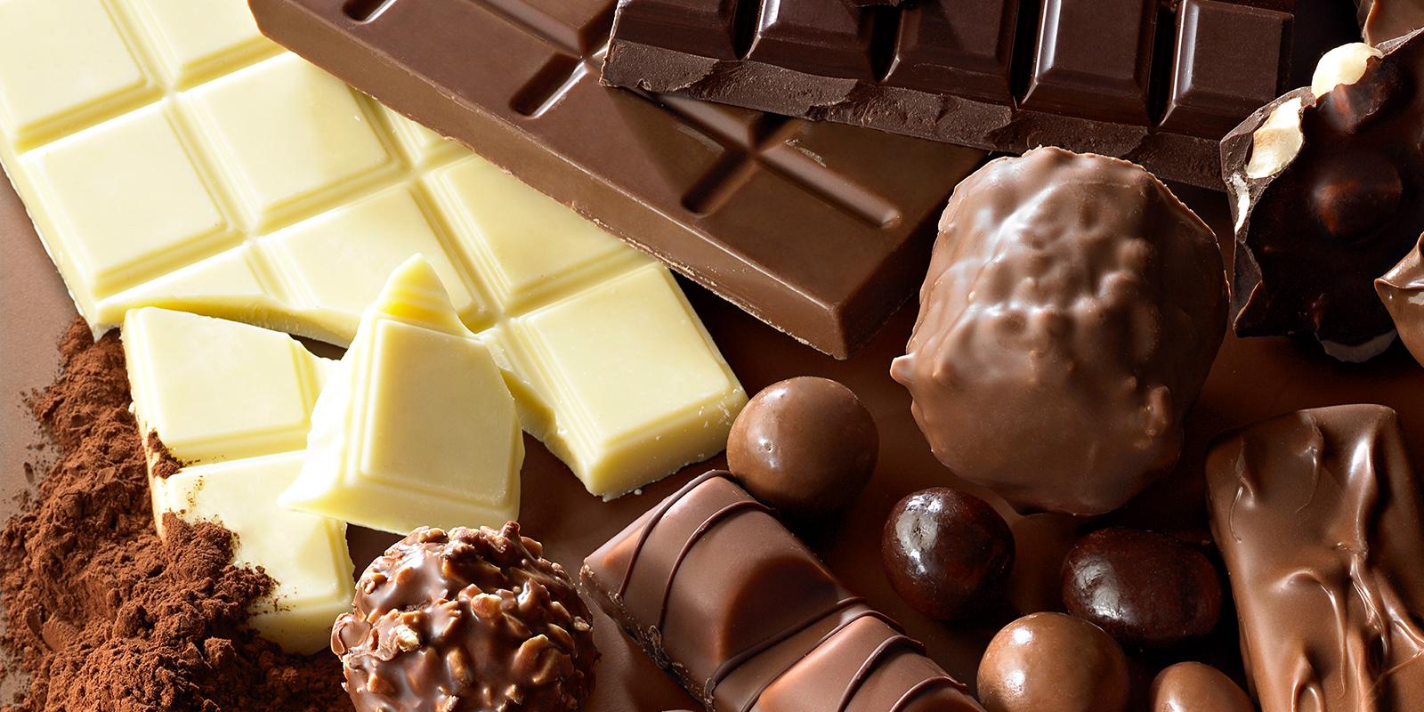 Resultado de imagem para tipos de chocolates