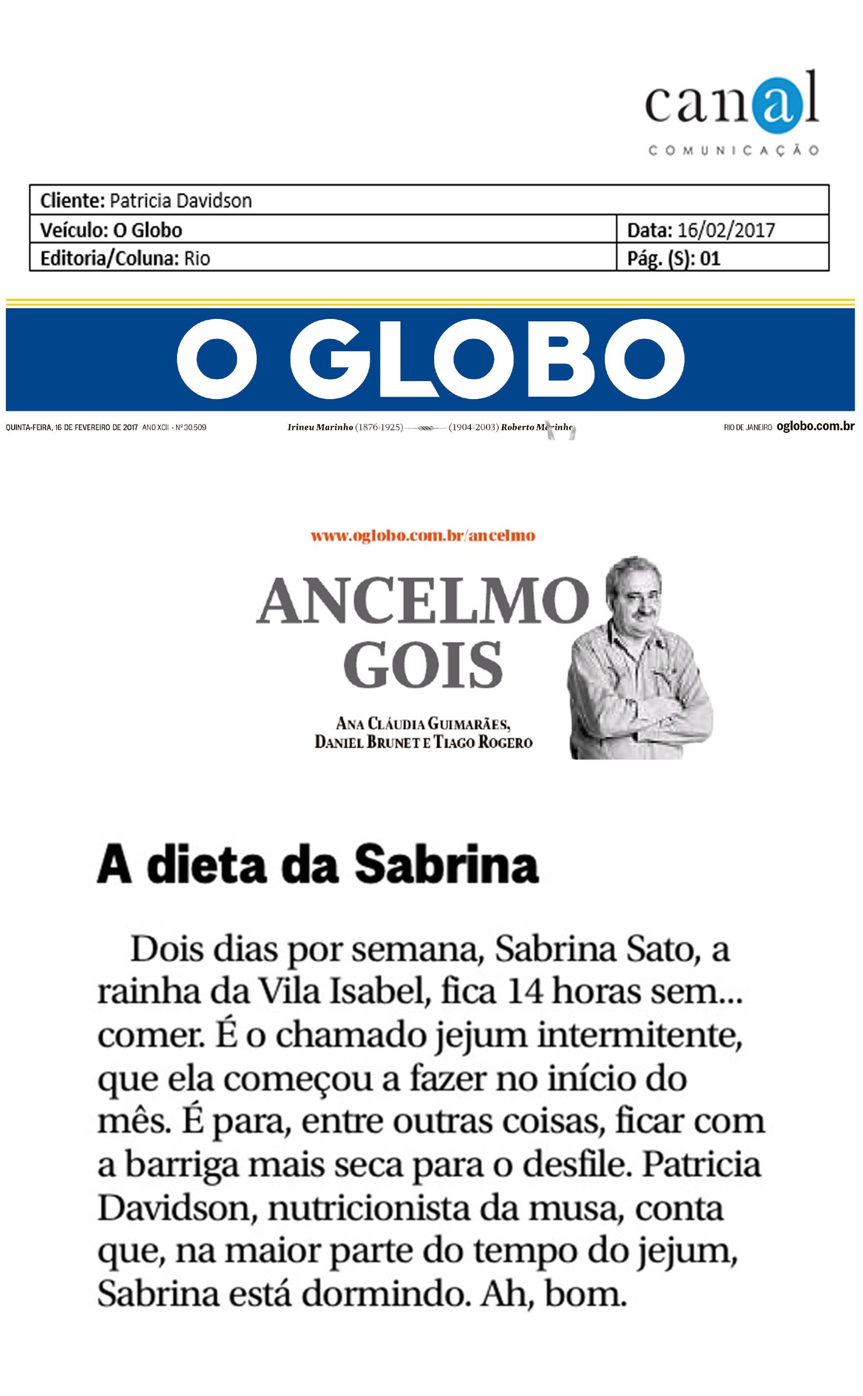 Patricia-Davidson_O-Globo_Rio_16-02-2017